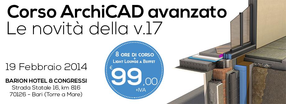 Corso Avanzato ArchiCAD 17 (BARI)